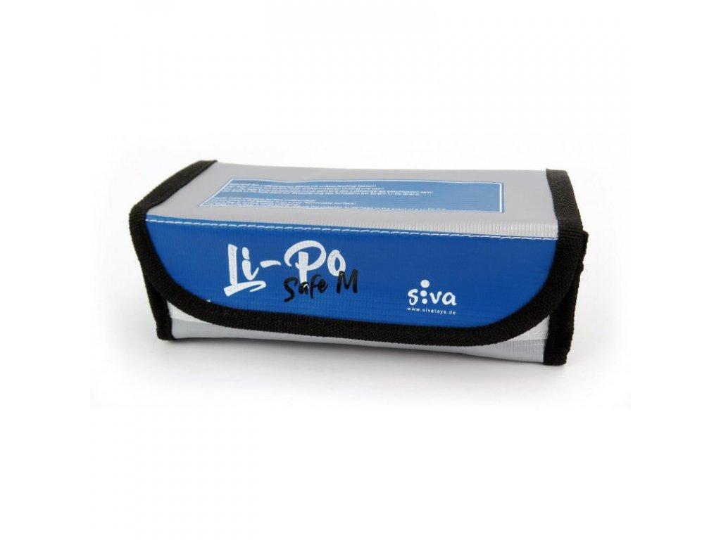 Safe Bag Siva Li-Pol vel. M, 185x75x60 mm