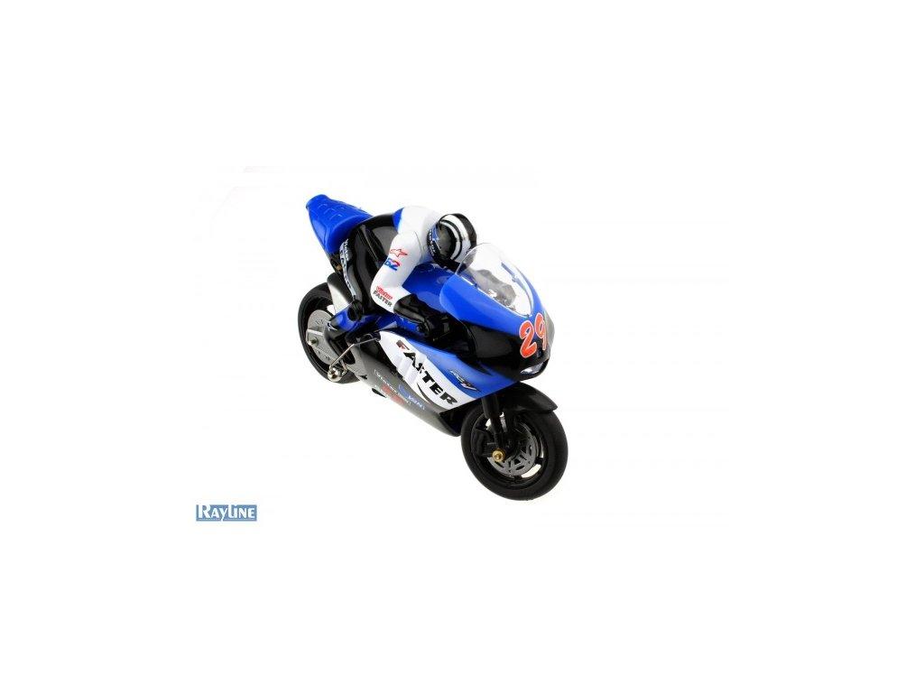 RC motorka R29 s Gyroskopom MODRÁ