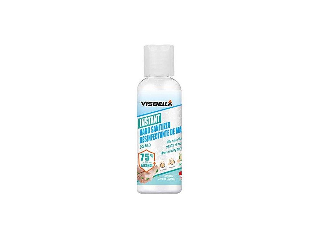 Antibakteriálny GÉL VISBELLA 100ml s Aloe Vera parfémovaný
