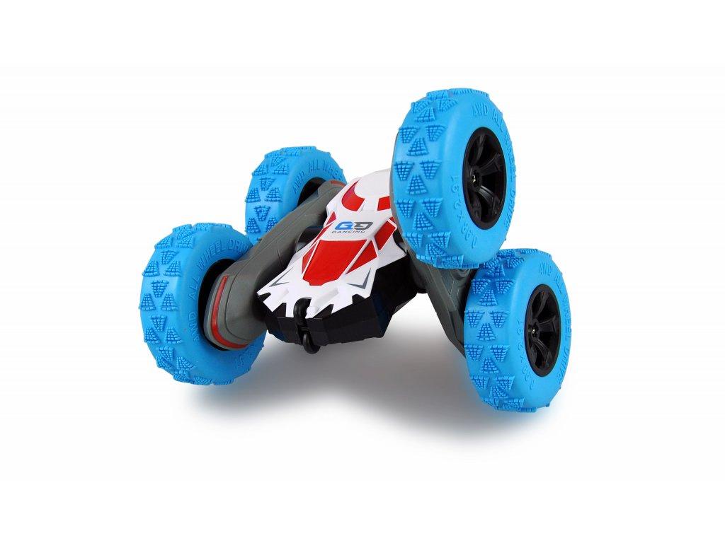 Obojstranné Rc auto Big SpinStar, , 4WD, otočné nápravy, 2,4 GHz, 100% RTR, modré
