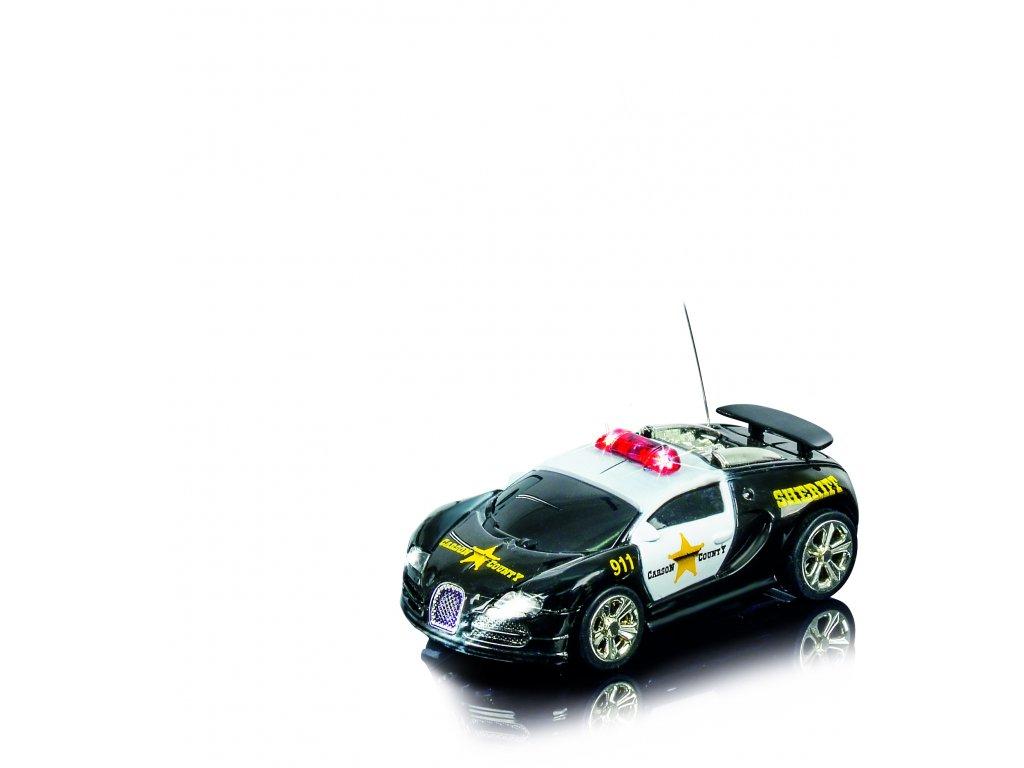 Rc autíčko NANO RACER Sheriff, 1:60