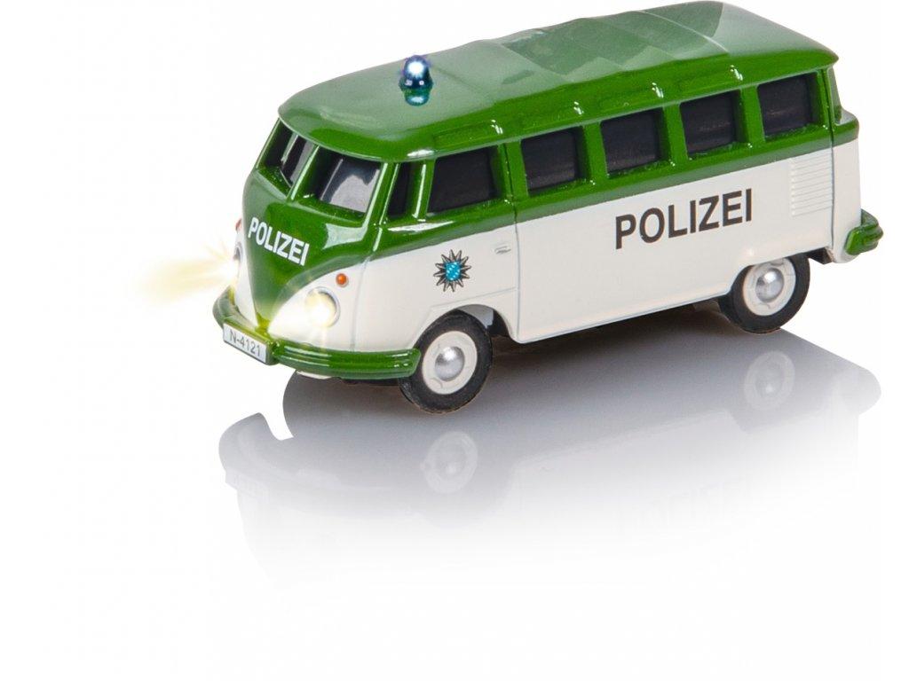 RC auto CARSON VW T1 Samba Bus Polizei 1:87