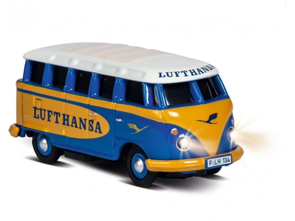 RC auto CARSON VW T1 Samba Bus Lufthansa 1:87