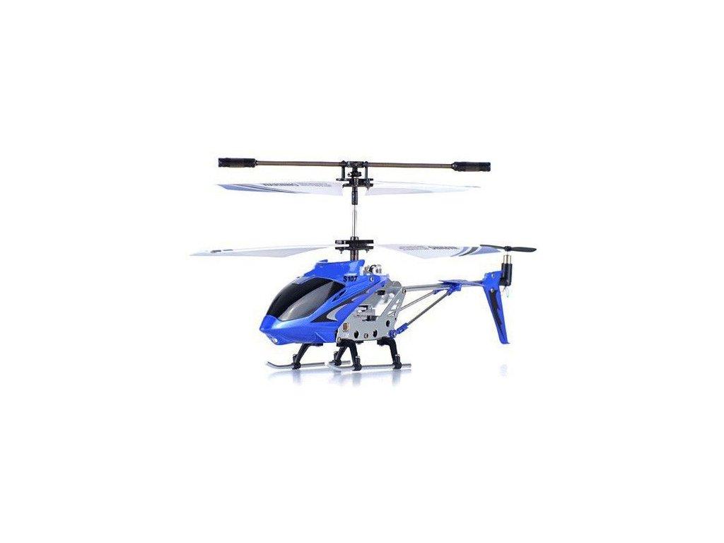 Mini RC vrtuľník Syma S107G MODRÁ