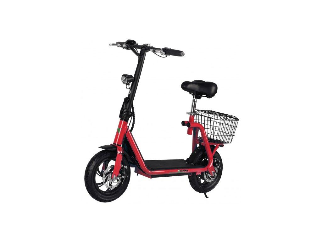 Elektrokolobežka X-scooters XS01 36V Li - 500W - Červená