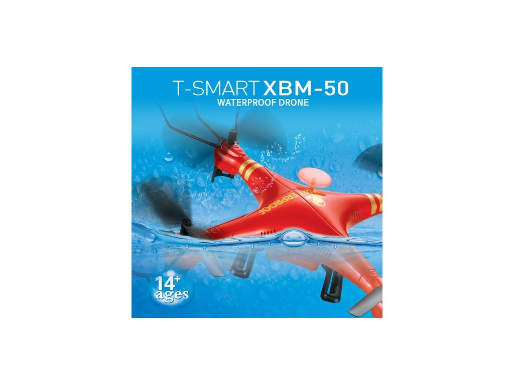 XBM-50 - Vodeodolný dron s HD kamerou