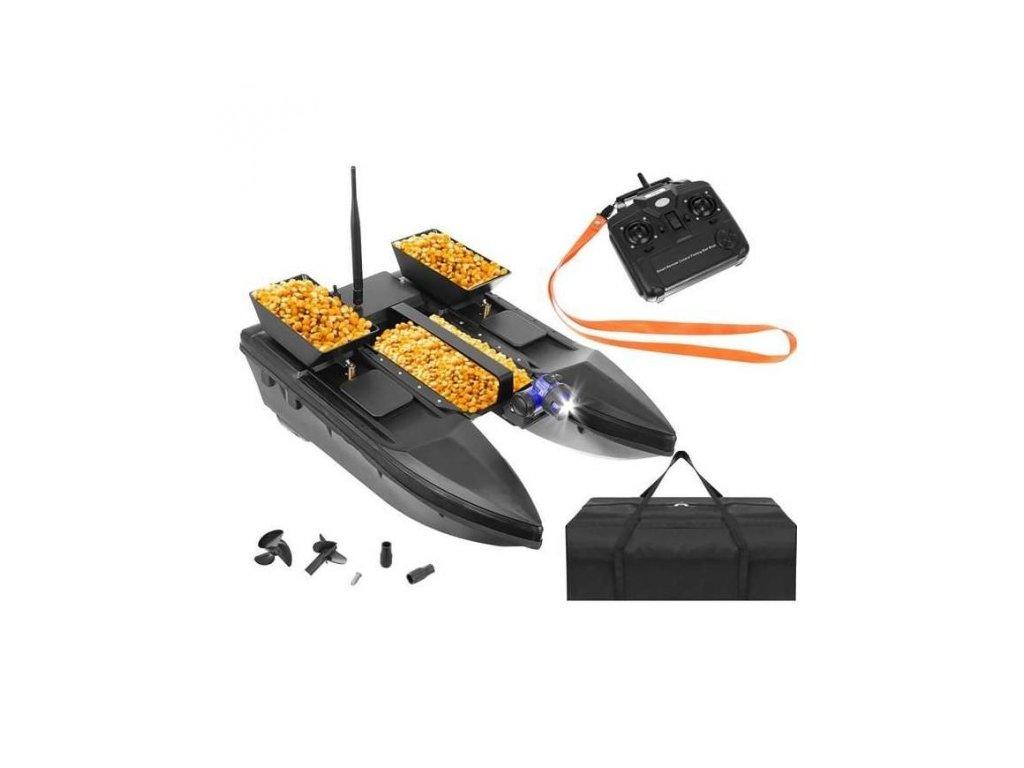 RC zavážacia loď - 3 diaľkovo ovládané komory