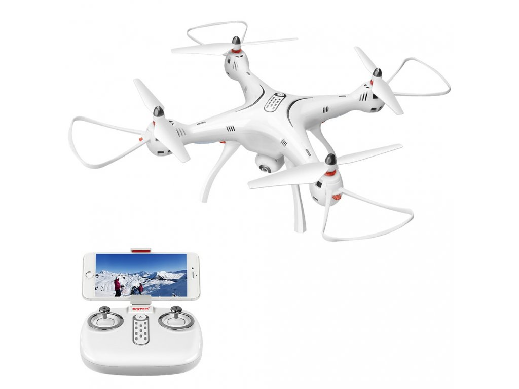 SYMA X8PRO s GPS, HD kamera + akumulátor naviac