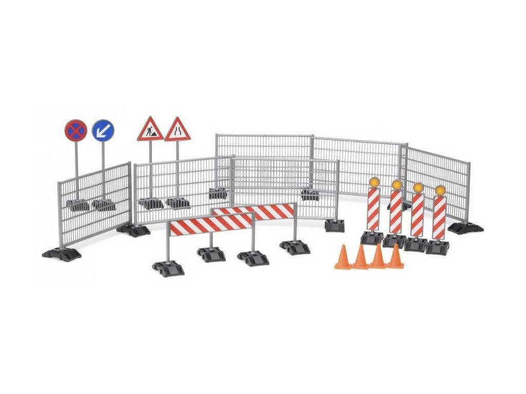 Dopravné značky a zábrany pre Rc stroje