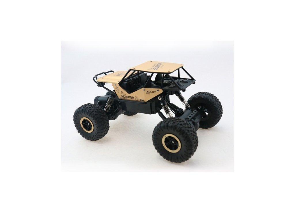 RC model auta Strong Crawler 4x4 - zlatý