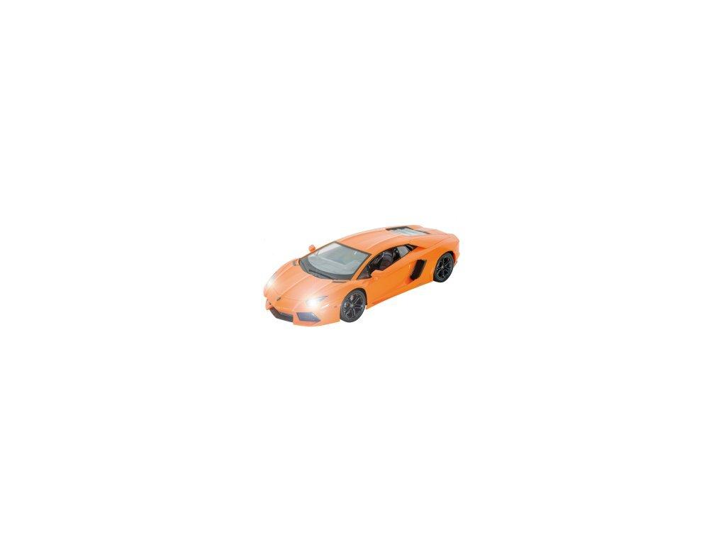 Licencovaný Rc model Lamborghini Aventador LP 700-4, 1:14, LED, 100% RTR, oranžová