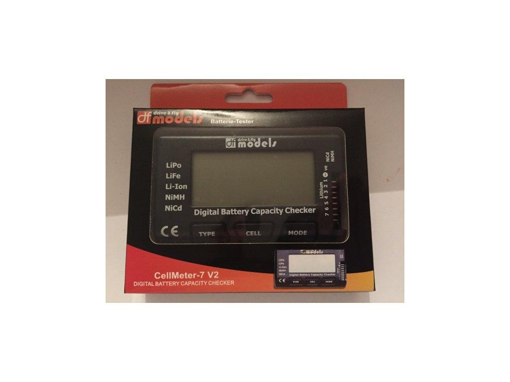 Digitálny merač všetkých typov akumulátorov