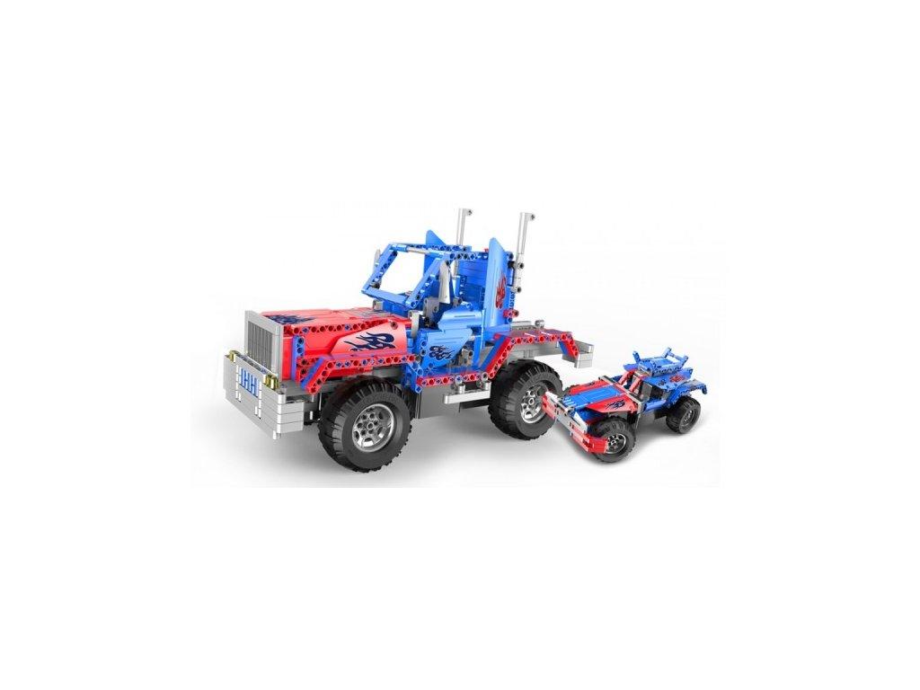 Truck 2v1 - stavebnica na diaľkové ovládanie