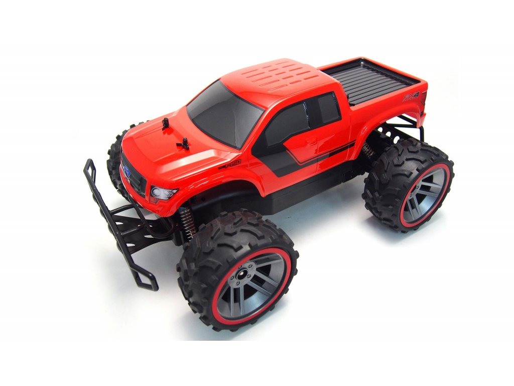 Rc auto Ford F-150 monster truck 1:8 2.4Ghz ČERVENÝ