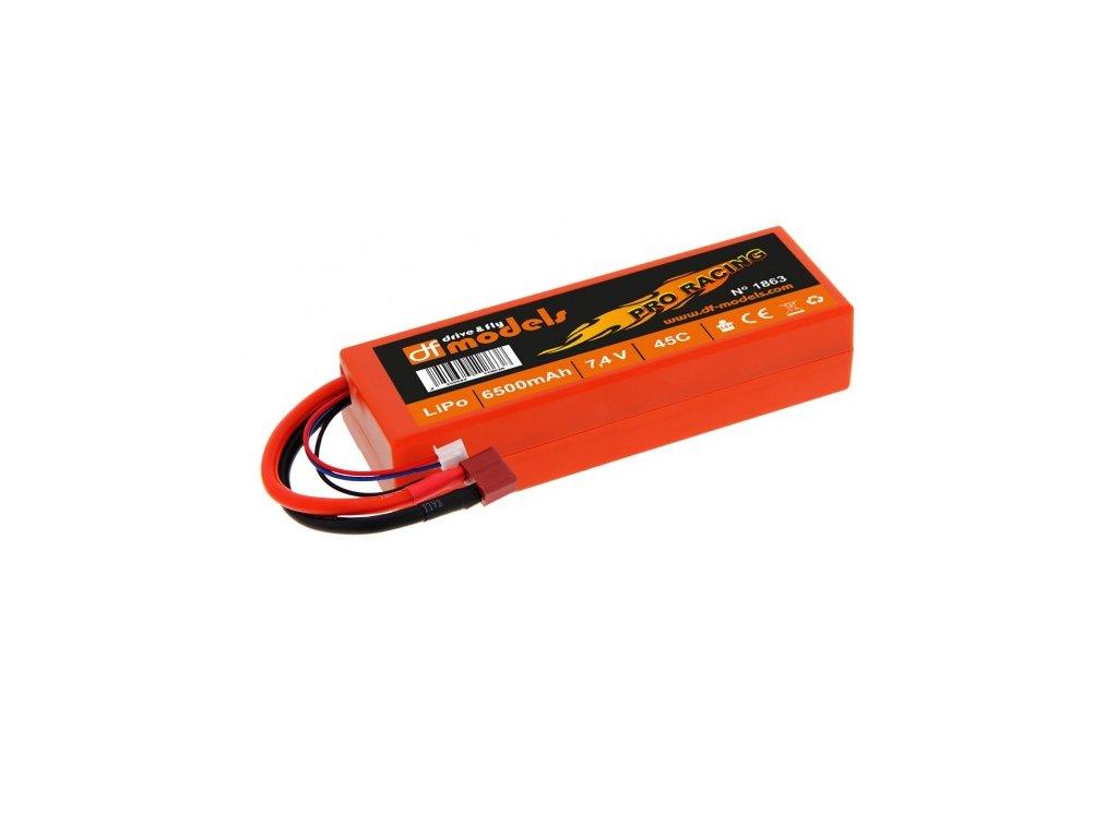 LiPo Aku 7,4 V / 6500 mAh - 45C Pro Racing