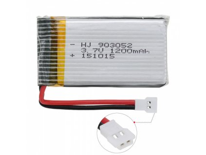 1200mAh 3,7V Akumulátor pre X5Csw, X5Cs, x5sw alebo x5sc