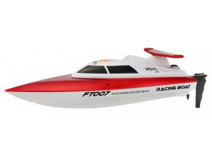 Double Horse Pretekársky Rc čln FT-07 2,4 Ghz, červený
