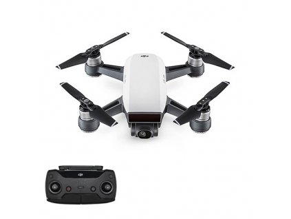 Rc dron DJI Spark (Alpine White version) + Vysielač