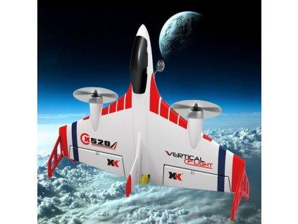 RC model lietadla FIGHTER - X520 VTOL