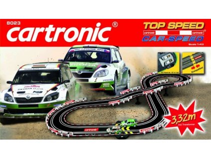 autodraha cartronic car speed top speed 332m