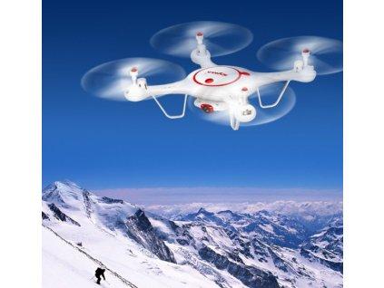 SYMA X5UC PRO - Rc dron s 50 minútami letu - mierne poškriananá, plne funkčná