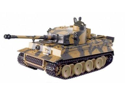 gim 14725 german tiger 1 24 airsoft tank zeleny 1