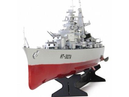 Bojová RC loď HT German Bismarck 1/360