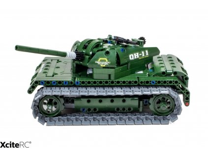 rc vojensky tank teknotoys active bricks