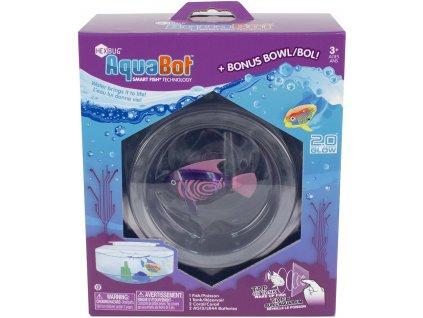 Aquabot 2.0 s okrúhlym akváriom a dekoráciou rôzne farby 460-4284