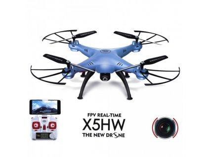 Dron Syma X5HW barometer, kompas, modrá