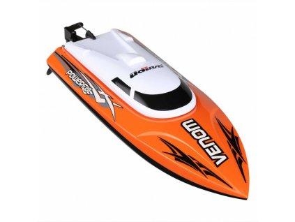 venom speed boat 25km h oranzovy