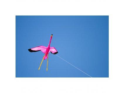 Šarkan Lietajúci Plameniak 3D 135 cm