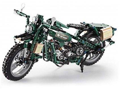 gim 24123 vojenska motorka stavebnice 550 dilku 1