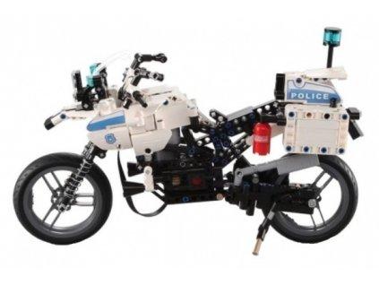 gim 24404 policejni motorka stavebnice 539 dilku 1