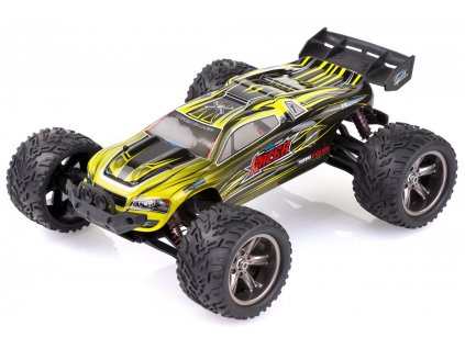 RC auto Monster Truggy 1:12,  RTR IP4 ŽLTÝ