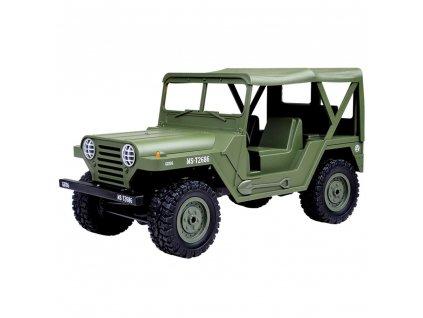 RC auto Americký jeep M151 1:14 zelený