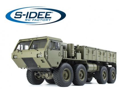 RC nákladný MilitaryTruck 1:12 RTR zelený 8x8