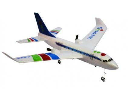 RC lietadlo Airbus RTF  2,4 GHz  modrý