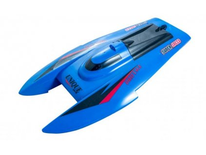 RC loď CATA RAZER Speed Boat RTR 2,4GHz LED modrá