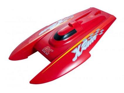 RC loď CATA RAZER Speed Boat RTR 2,4GHz LED červená