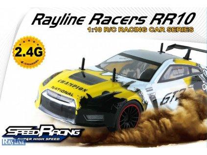 RC auto RACERS  DRIFT ŽLTÁ 1:10 RTR 2,4 GHz