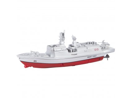 Mini RC bojová loď do bazéna i jazera 2,4 GHz RTR