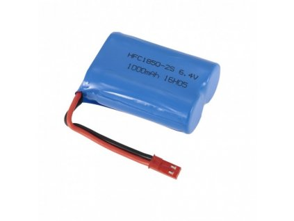 Akumulátor 1000mAh 6.4V Li-Ion JST -