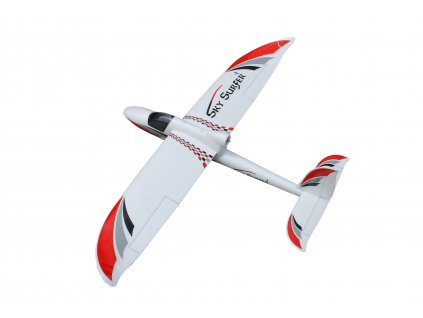 RC lietadlo SKY SURFER V2 1400 mm PNP ČERVENÁ