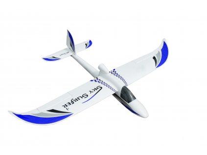 RC lietadlo SKY SURFER V2 1400 mm PNP MODRÁ