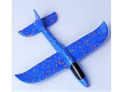 Pružné hádzadlo 48cm - tmavo modré
