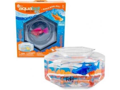 Aquabot 2.0 s šesťhraným akváriom rôzne farby 460-3673