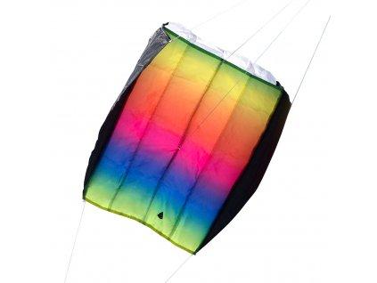 Šarkan Parafoil Easy Rainbow 56x35 cm