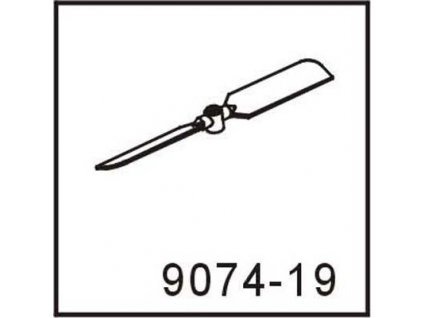 9074-19, zadná vrtulka pre craft 9074