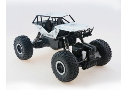 RC model auta Strong Crawler 4x4 - strieborný